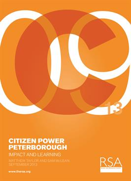 Citizen Power Peterborough: Impact and Learning