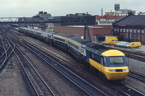 grange train RDI intercity