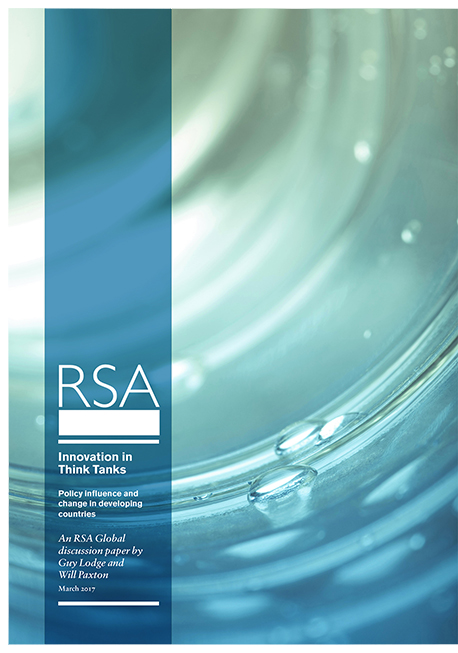 innovation in think tanks RSA Global