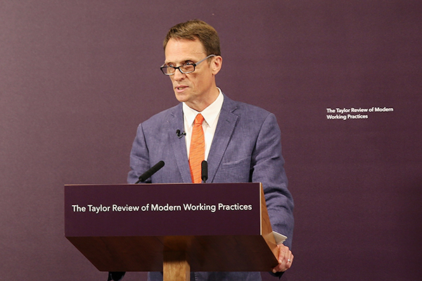 Taylor Review of Modern Working Practices