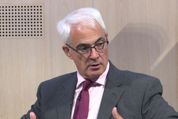 Alistair Darling on 10 Years After the Financial Crash
