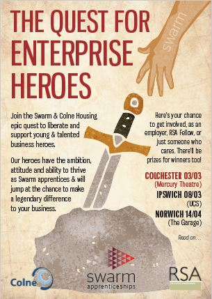 EVENT: The Quest for Enterprise Heroes