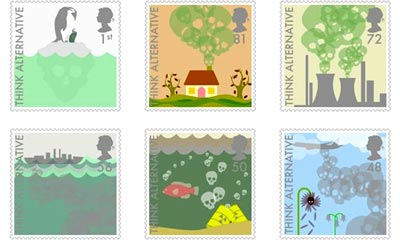Alternative energy stamps