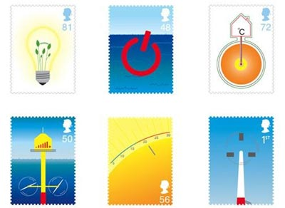 Alternative energy stamps - Courtney Mullings