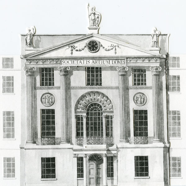 Archive illustration of RSA House