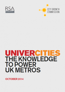 UniverCities: The Knowledge to Power UK Metros