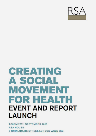 creating a social movement for health