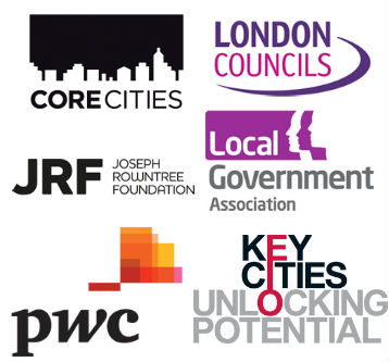 Inclusive Growth Commission funders and partners Logo