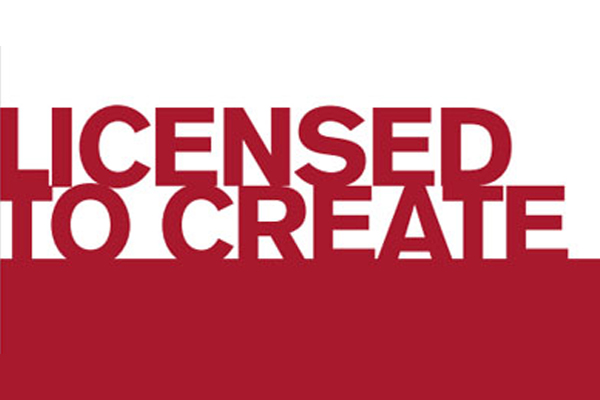 Licensed to Create