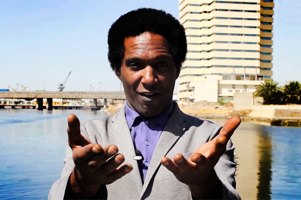 Lemn Sissay in Pakistan