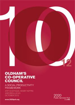 Oldham's Co-operative Council: A social productivity framework