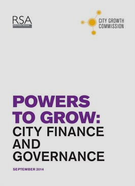 Powers to Grow: City Finance and Governance