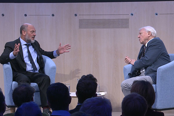 David Attenborough & Tim Flannery on Climate Change