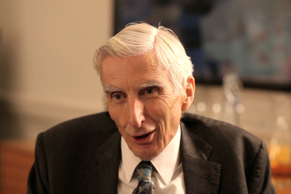 5 Minute Life Lesson with Cosmologist Martin Rees