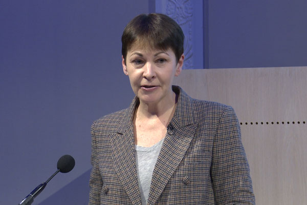 Caroline Lucas on Taking Back Control of our Climate