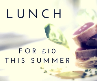Lunch for £10 this summer