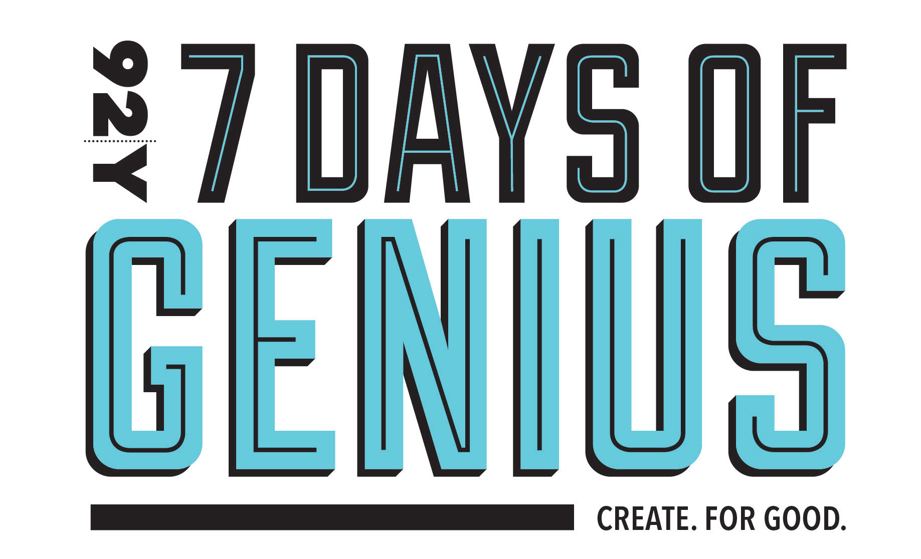 92Y's 7 Days of Genius Festival Logo