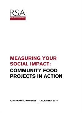Measuring Your Social Impact: Community Food Projects in Action