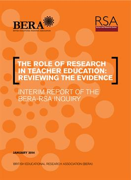 The role of research in teacher education: Reviewing the