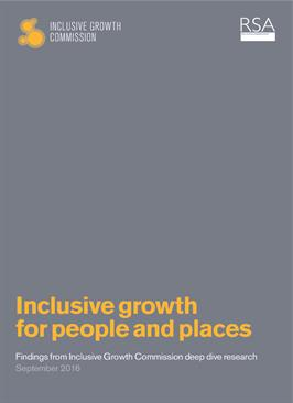 Inclusive Growth for People and Places: Challenges and Opportunities