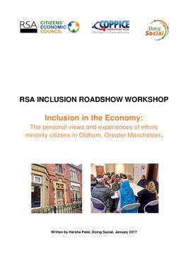 Read the 'Inclusion in the Economy' report and evaluation