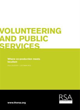 Report: Volunteering and Public Services