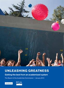 Unleashing greatness: Getting the best from an academised system