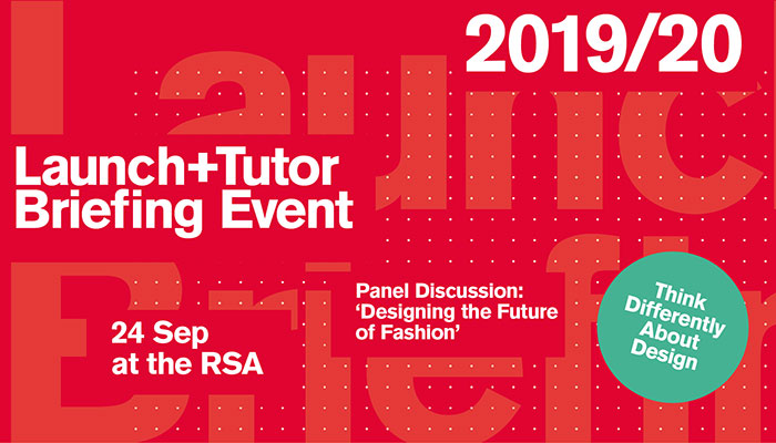 2019/20 LAUNCH AND TUTOR BRIEFING EVENT, 24 SEPTEMBER