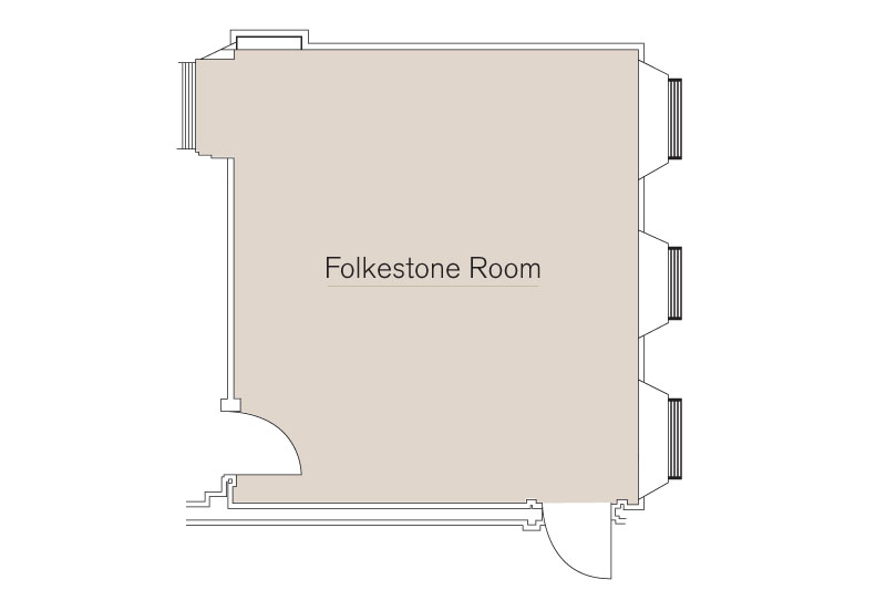 Folkestone Room Floor Plan