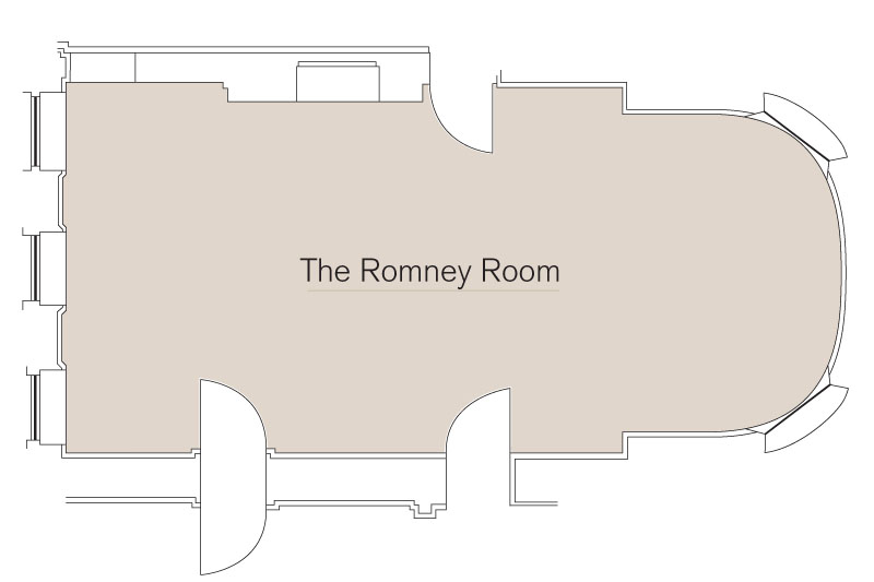 Romney Room Floor Plan