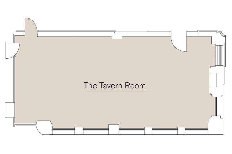 Tavern Room Floor Plan