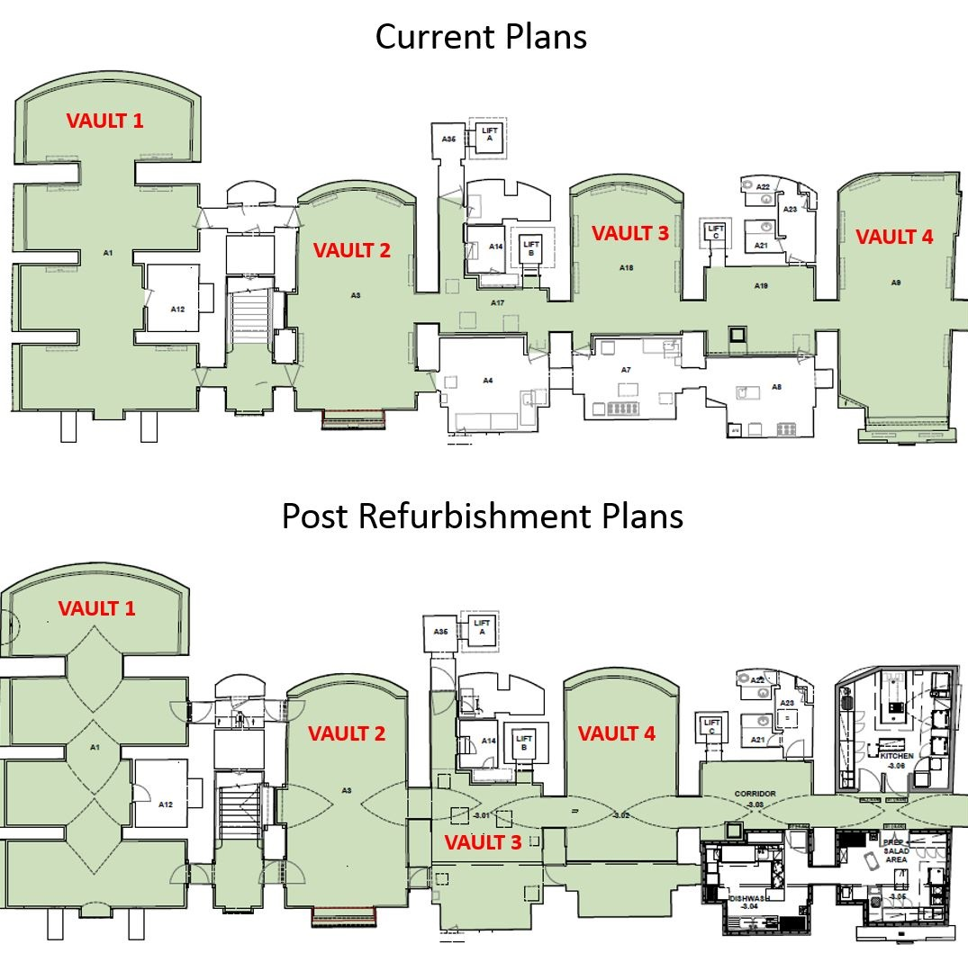 Vaults Floor Plan