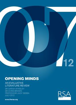 Opening Minds: An evaluative literature review